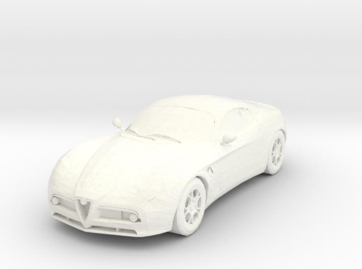 Alfa Romeo 8C Competizione 3d printed