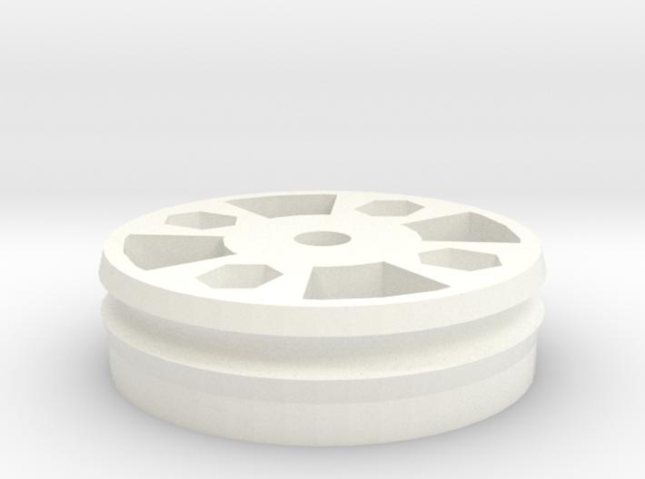 MoirePattern Pulley 3d printed