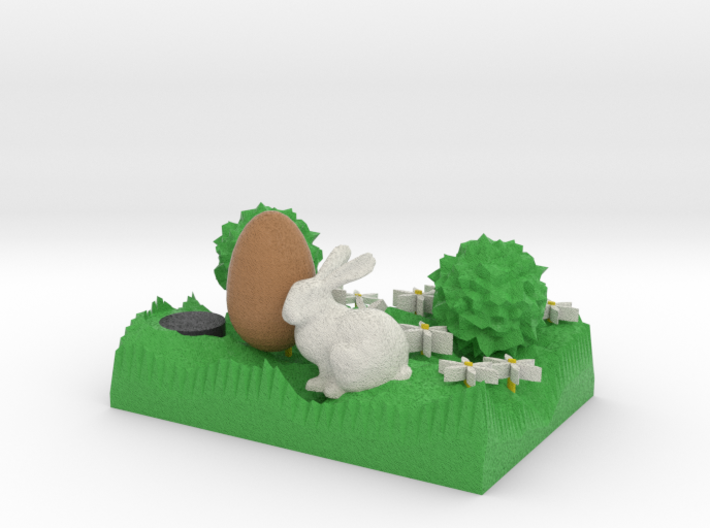 The Easter Bunny 3d printed
