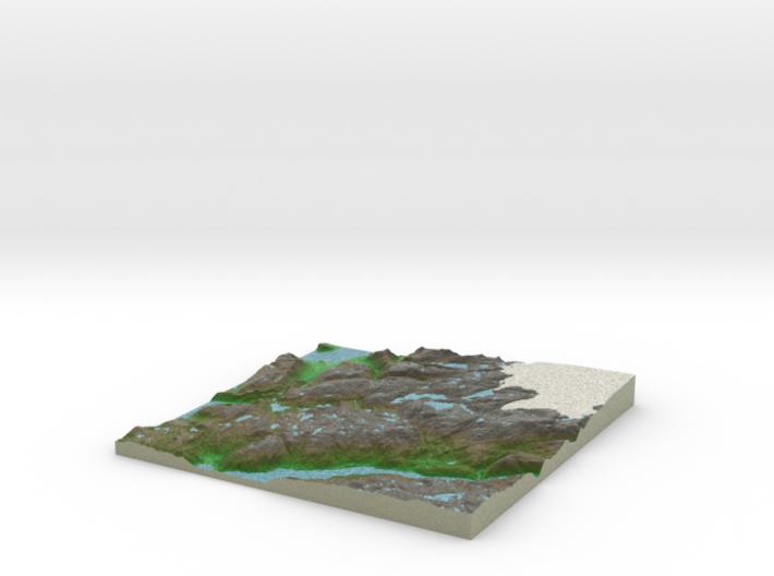 Terrafab generated model Fri Jan 03 2014 15:43:50 3d printed