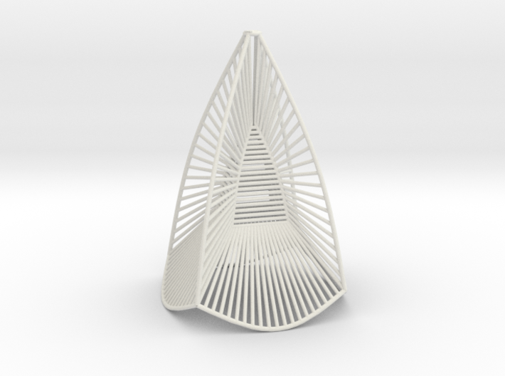 tensioned minimal surface A 3d printed