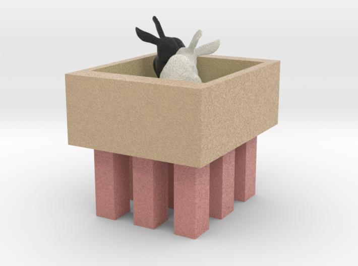 Bunnies In Shop (2) 3d printed