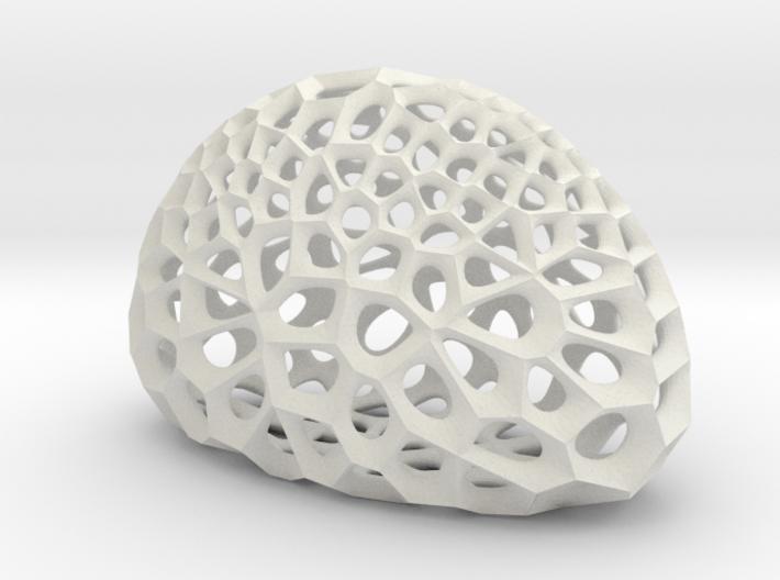 Radiolarian skeleton 3d printed