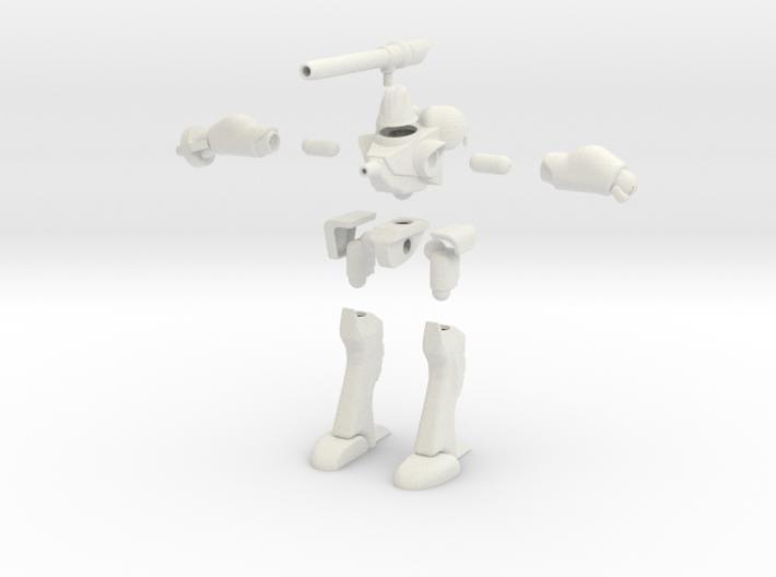 MAC03 NG Powered Armor 3d printed