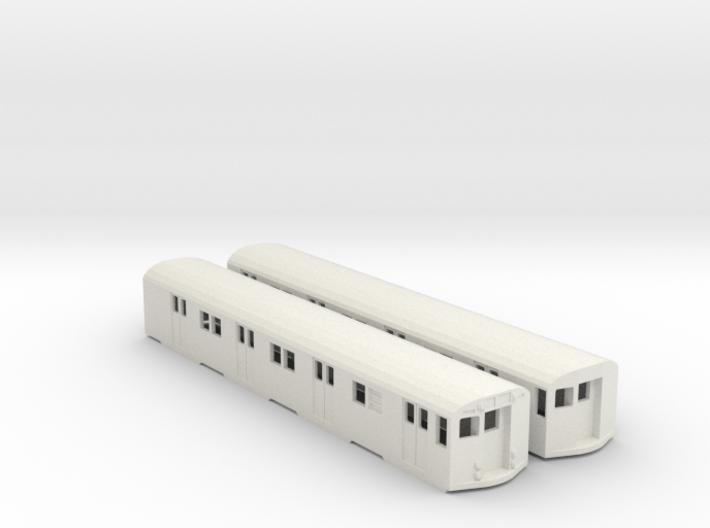 ho scale r27/r30 subway car new york city (pair) 3d printed