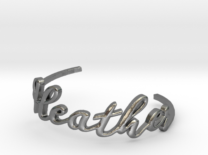 Heather Bracelet 3d printed