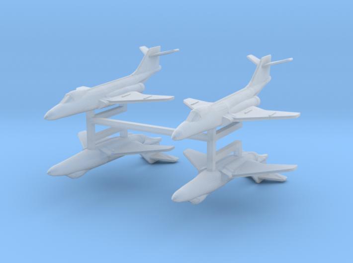 F-101 Voodoo 1:600 x4 3d printed