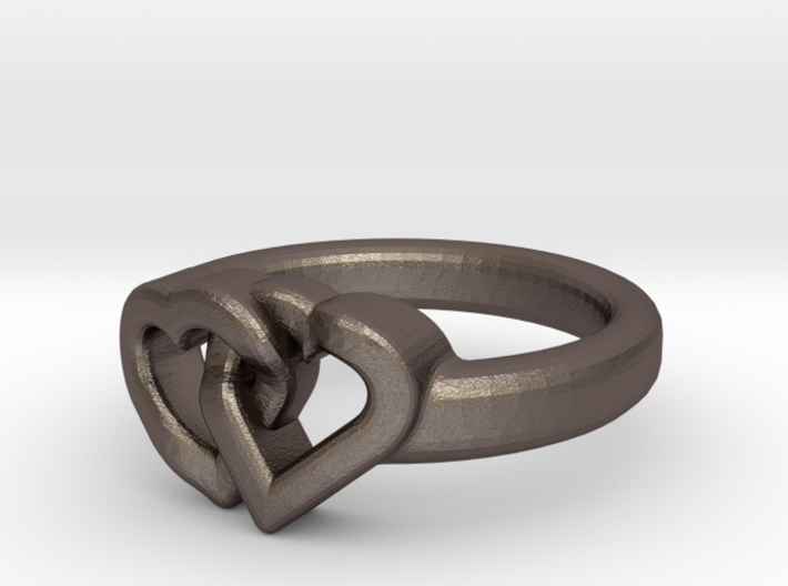 Entangled Love Small Sz15 3d printed