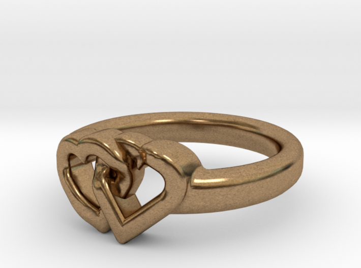 Entangled Love Small Sz16 3d printed