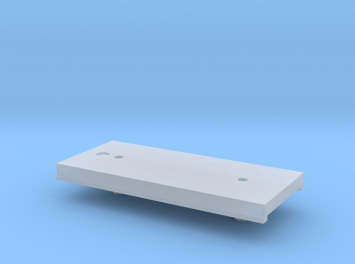 tender bodenplatte 3d printed
