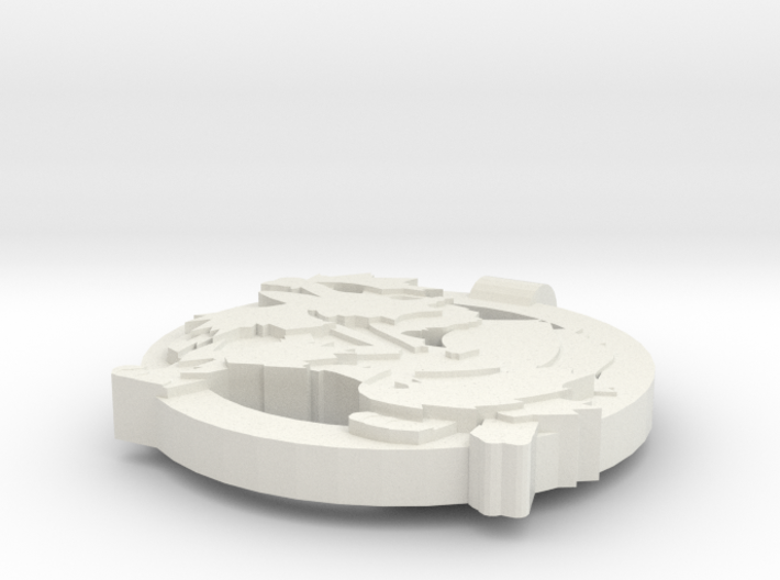 Arcanine Pendant 3d printed