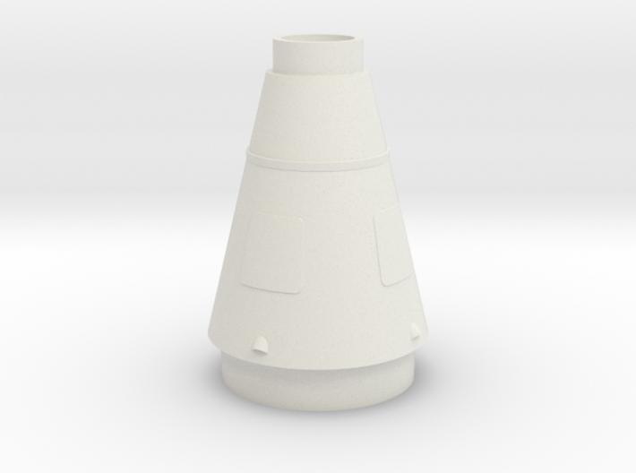 Juno II Rocket Mid Stage 1:48 3d printed
