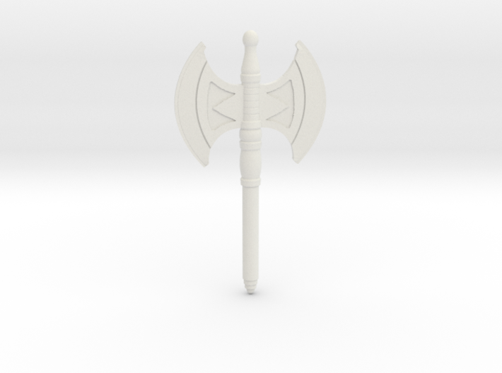 Battle Axe for the New Mini figures 3d printed