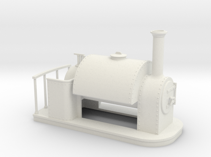 On16.5 old style small saddle tank 3d printed