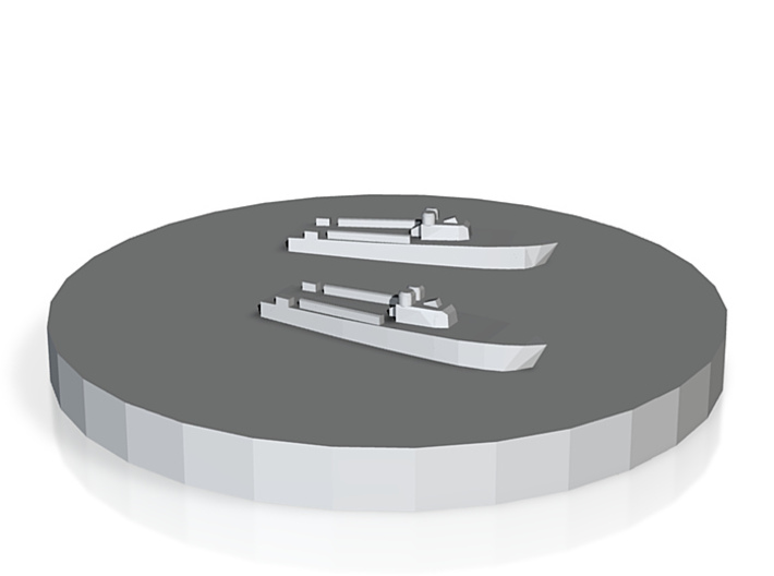 Gyoraitei Type 1 MTB 1:1800 3d printed