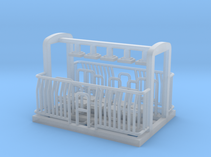 AG/FM Van Handrails, NZ, (HO Scale, 1:87) 3d printed