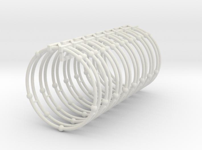 Nitrogen Napkin Ring 3d printed