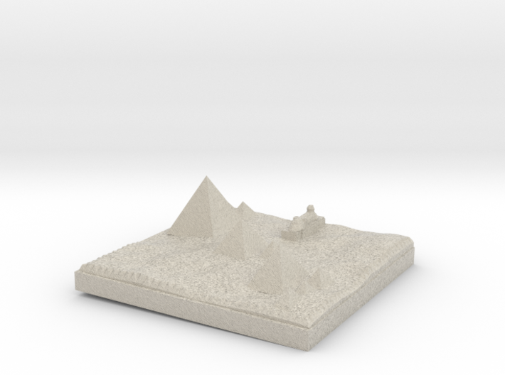 Traditional View Of The Pyramids more printable 3d printed
