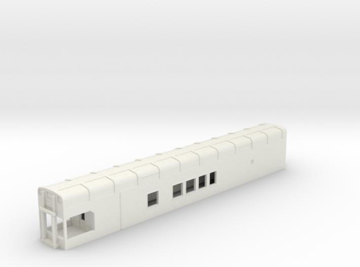 N Scale Rocky Mountaineer B Series 8'3 Platform 3d printed