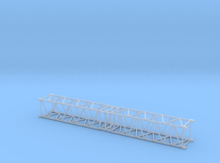 HO/1:87 Crane boom segment 17x17 x2 3d printed