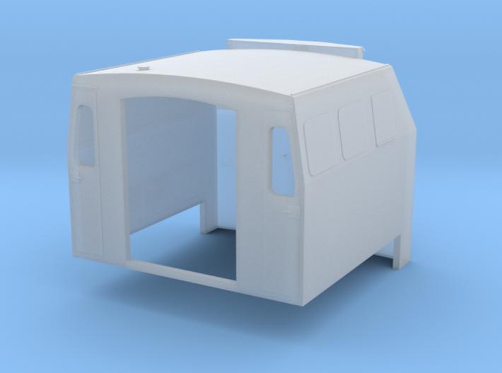 HO 1-87 Scale BQ23-7 B Plated Windows 3d printed