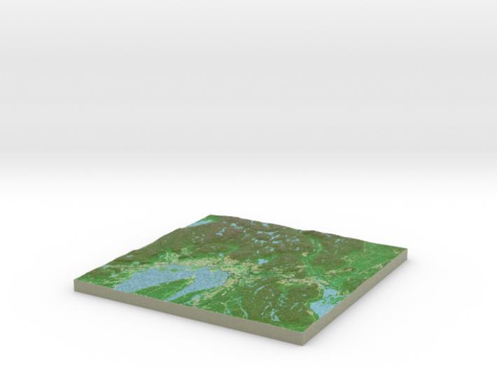Terrafab generated model Sun Feb 02 2014 22:35:09 3d printed