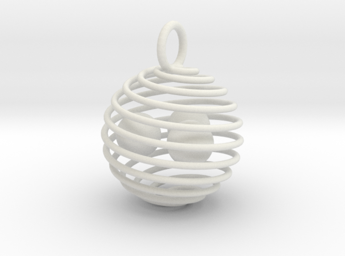 swirl cage 3d printed