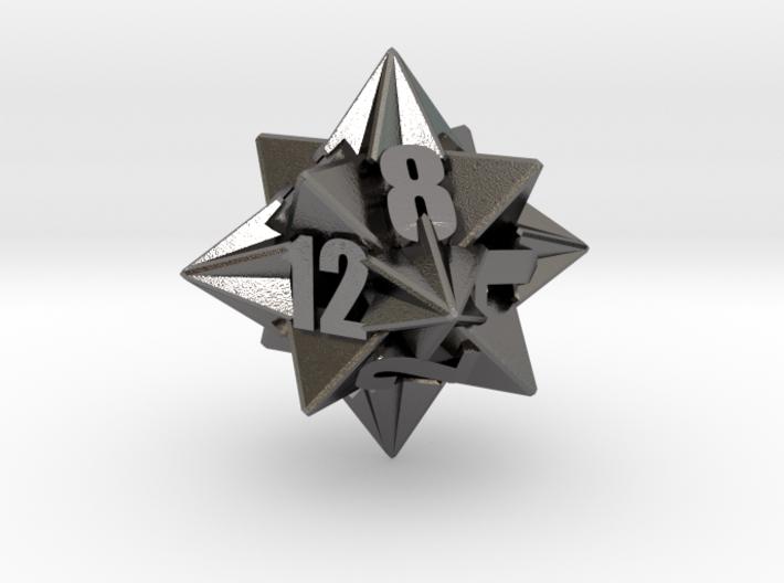 Icotetrhombic d12 die 3d printed