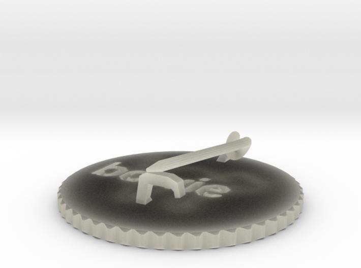 by kelecrea, engraved: bowie 3d printed