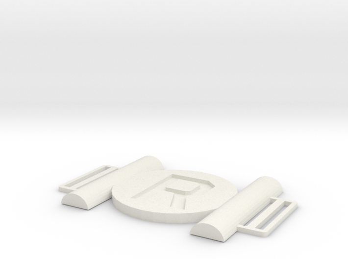 Robin Belt Buckle 3d printed