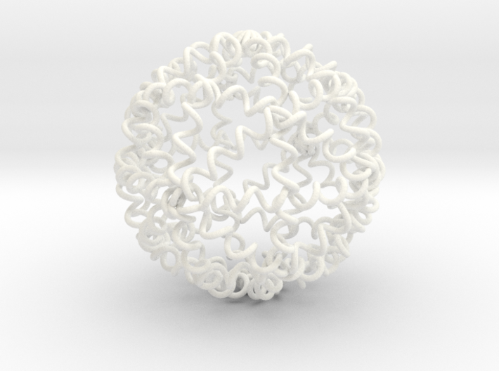 My SPRINGBALL - High Bounce Squishy Ball 90mm 3d printed