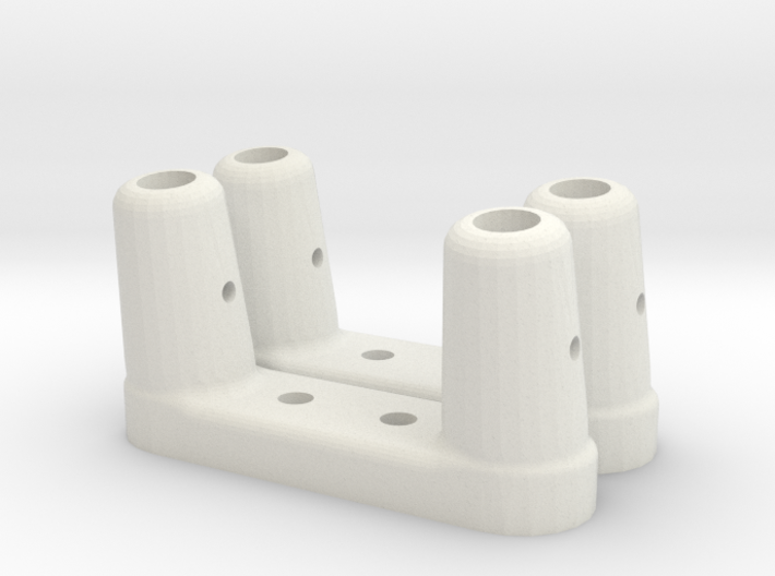 BP-8 Scratch bar brackets 3d printed