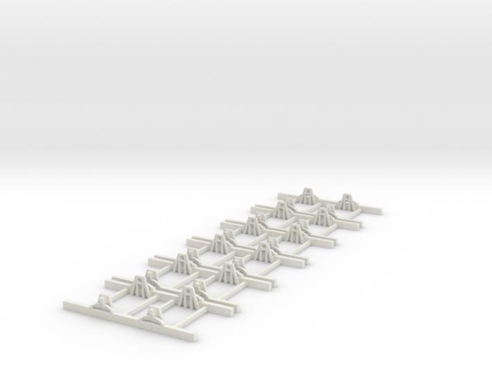 Sn2 Underframe 4ft wb x6 3d printed