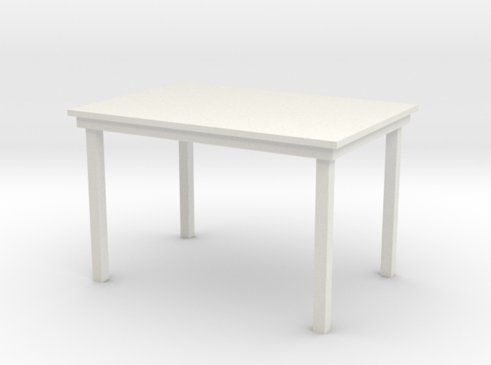1:24 Dining Table 3d printed