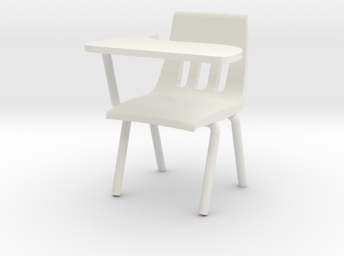 1:24 Classchair Right Hand 3d printed