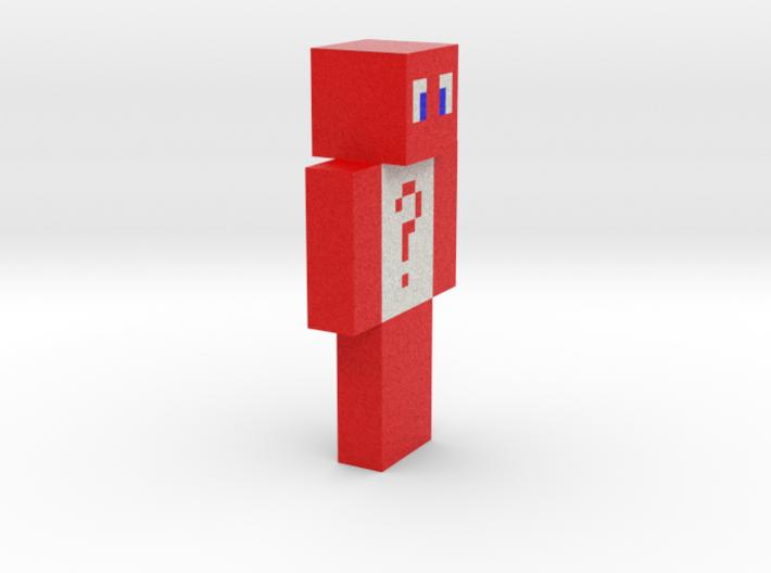 6cm   Red_ghost 3d printed