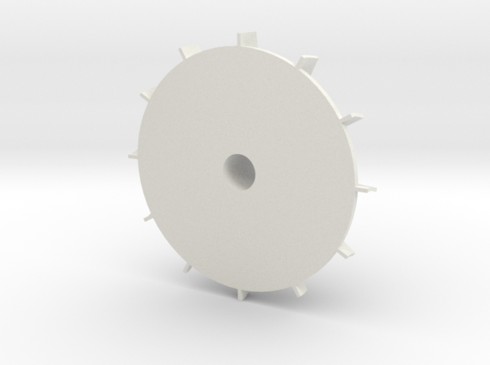 Turbine Wheel 3d printed