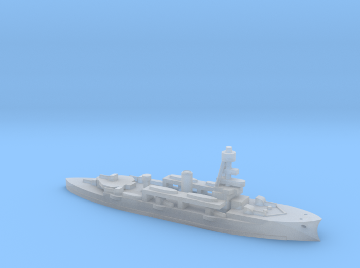 Niels Juel ship in 1/1800 scale 3d printed