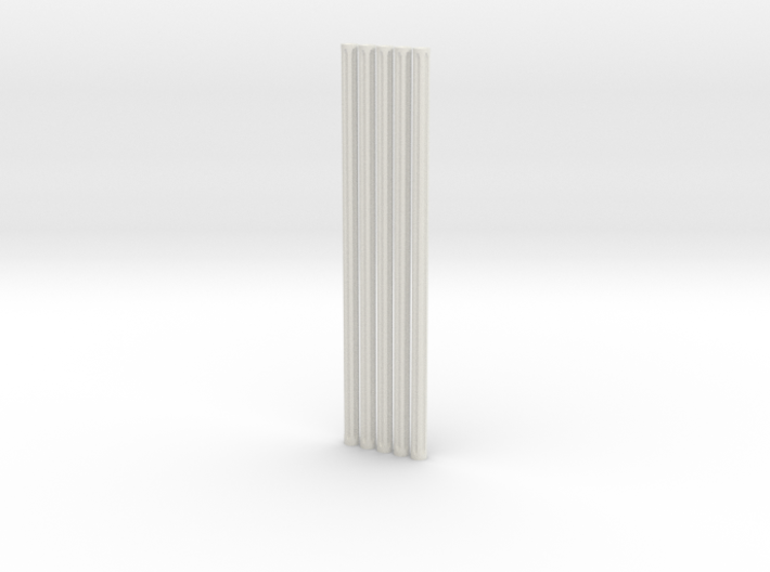 Fluted Rod 99mm X5 3d printed