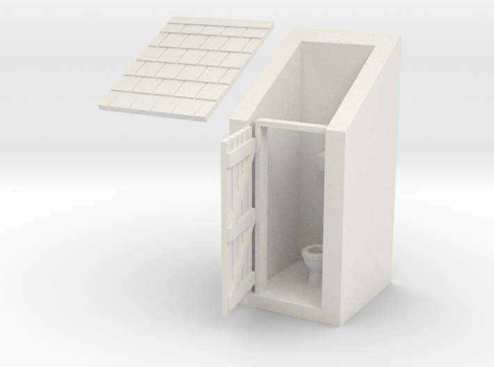 Outdoor Privy 3d printed