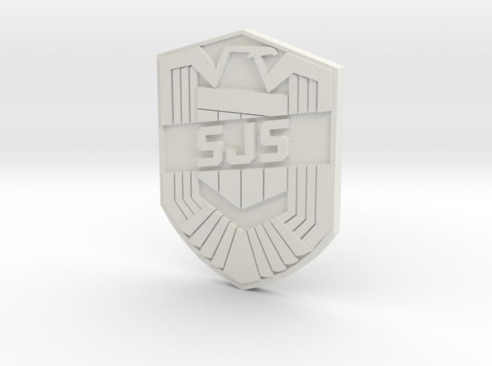 SJS Badge Custom 3d printed