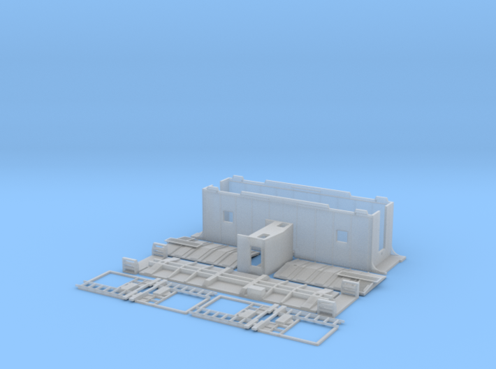 Auto-Train (ATC) Caboose 3d printed