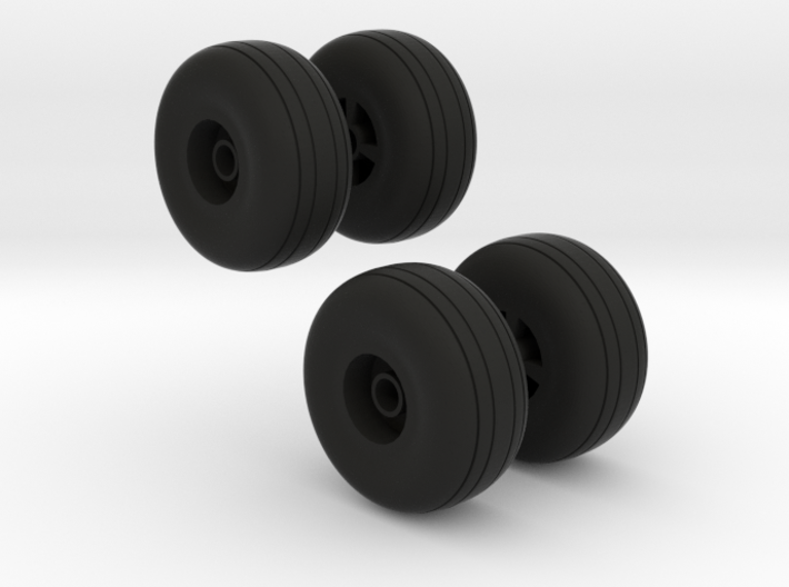 Reifen für Flugzeugfahrwerk 3d printed