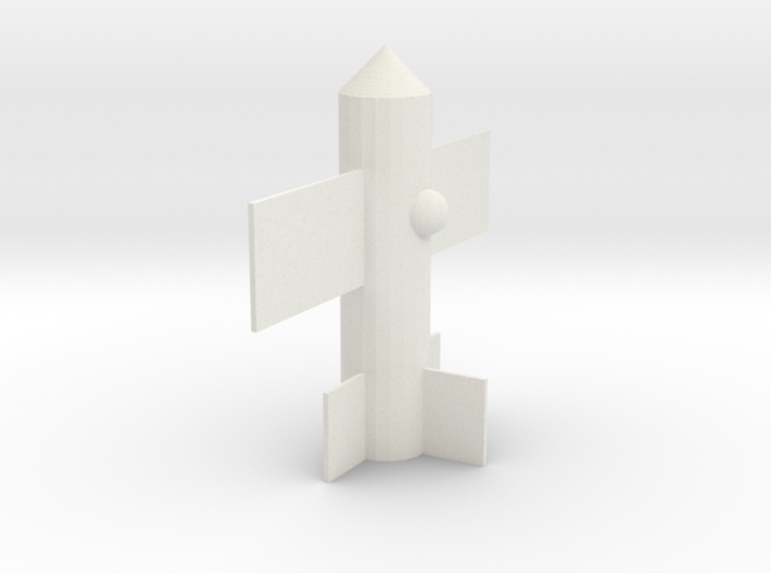 rocketplane 3d printed