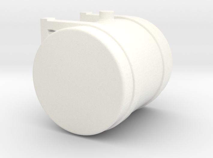 1/64th Scale 50 Gallon Hydraulic or fuel tank 3d printed