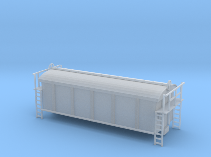 PRA China Clay Wagon N Scale (1:148) 3d printed