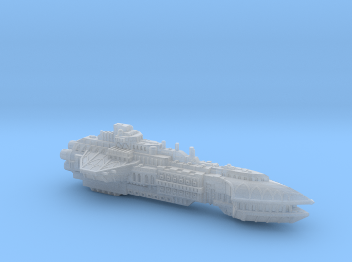 BFG Heresy Marine Cruiser (2.8 in) 3d printed