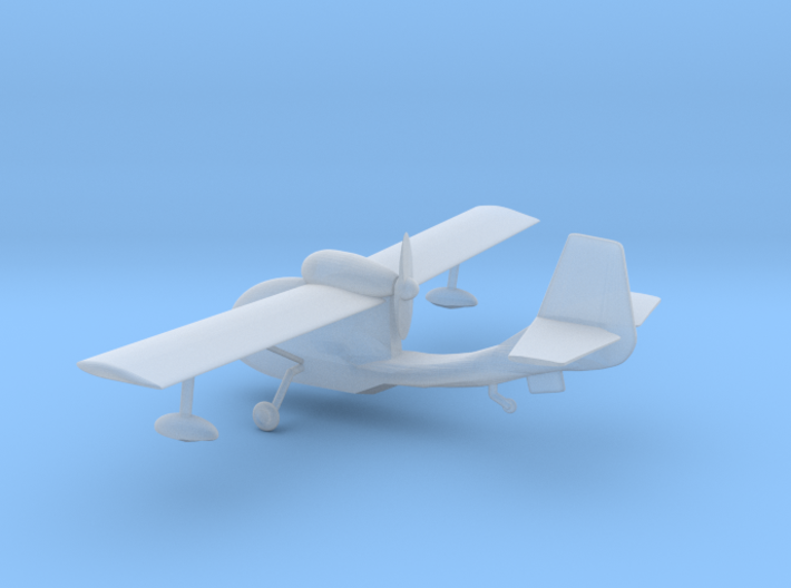 Republic Seabee - Z scale 3d printed