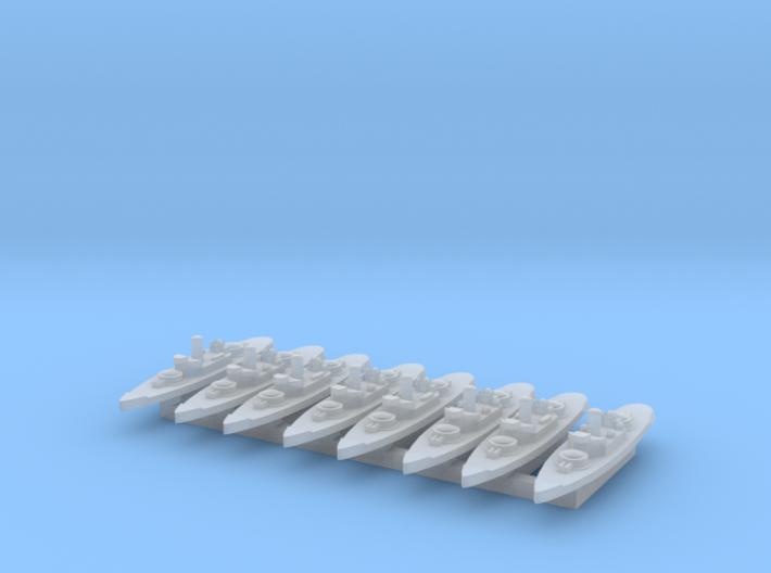 Amphitrite 1:4800 x8 3d printed