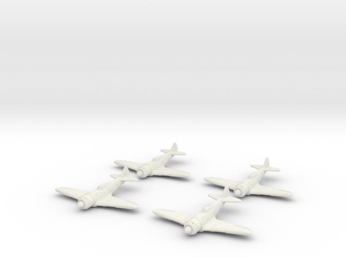 1/200 Lavochkin La-7 (x4) 3d printed